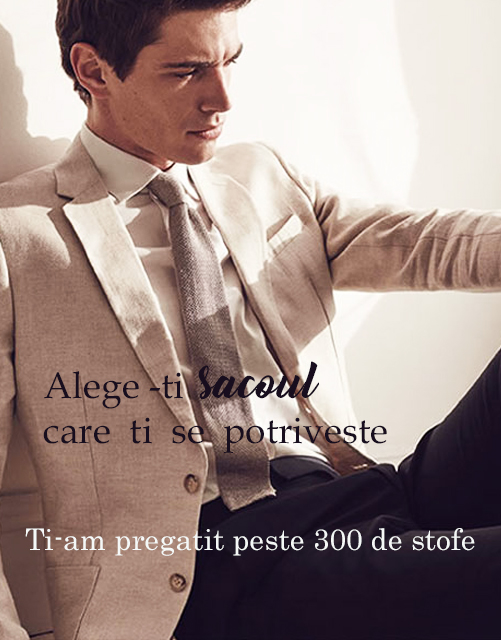 sacouri made to measure